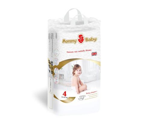 Подгузники MommyBaby L 9-14кг, 44 шт купить в магазине Москва в наличие.