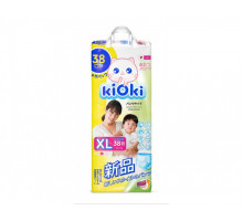Подгузники-трусики Kioki XL12+кг 38 шт/уп