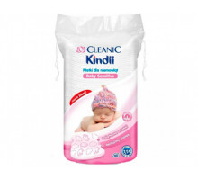 """Детские ватные диски """"Cleanic Kindii"""" , 60 шт (с 0 месяцев)"""