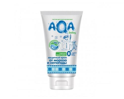 Защитный крем от мороза и непогоды AQA BABY 50 мл (с 0 месяцев)