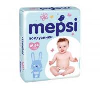 Подгузники Мепси (Mepsi) M 6-11кг, (64шт/уп)