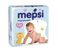 Подгузники Мепси (Mepsi) S 4-9кг, (84шт/уп)