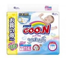 Подгузники GooN до 5кг, 114шт (JAPAN)