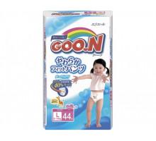 Трусики для девочек GooN L 9-14кг, 44шт (Япония)