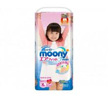 Трусики Moony для девочек 12-17 кг, 38шт/уп