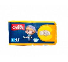 Подгузники-трусики Chiaus Premium L 9-14кг, 48 шт