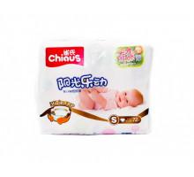 Подгузники Chiaus Двойная Защита S 3-6кг, 72 шт