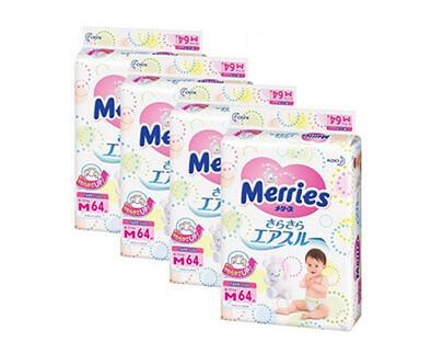Merries - пожалуй самые мягкие среди подгузников Японского производства!