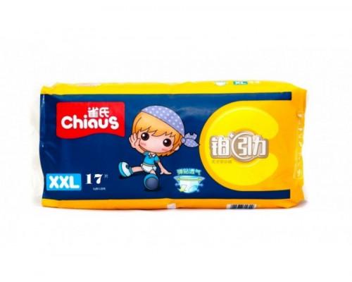 Подгузники-трусики Chiaus Premium XXL 17+кг, 17 шт